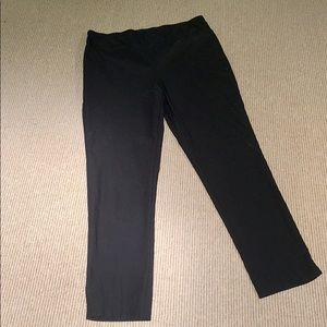 Chico's So Slimming Black Pull On Ankle Pant